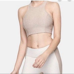 Outdoor Voices Athena Crop in Oatmeal Size M